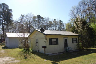 Vass NC Single Family Home For Sale: $45,000