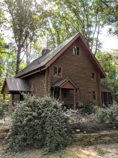 Cameron Single Family Home For Sale: 1460 Red Hill Road