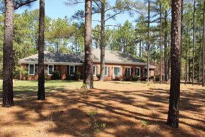 Southern Pines Single Family Home Active/Contingent: 102 Rob Roy Road