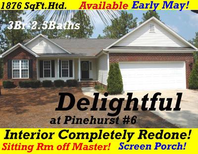 Pinehurst Rental For Rent: 37 Hampshire Lane