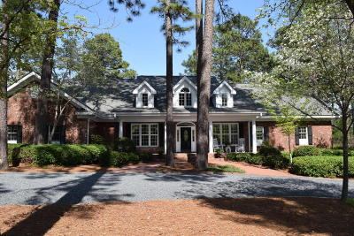 Pinehurst NC Single Family Home For Sale: $710,000