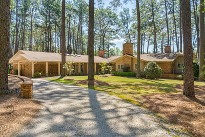 Southern Pines Single Family Home For Sale: 177 Cross Country Lane