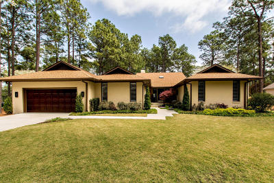 Pinehurst NC Single Family Home Active/Contingent: $349,000