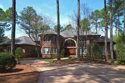 Pinehurst NC Single Family Home For Sale: $1,950,000