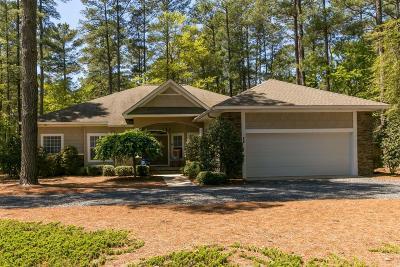 Pinehurst NC Single Family Home For Sale: $375,000
