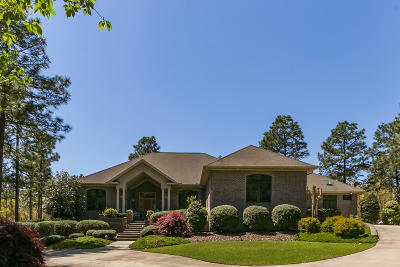Pinehurst, Southern Pines Single Family Home For Sale: 835 Lake Dornoch Drive