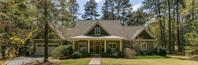 Southern Pines Single Family Home Active/Contingent: 125 Crest Road
