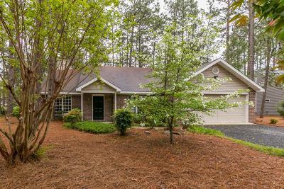 Pinehurst Single Family Home For Sale: 50 Rutledge Lane