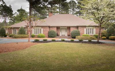 Pinehurst, Southern Pines Single Family Home Active/Contingent: 6 Maples Lane