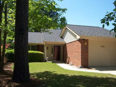 Pinehurst NC Single Family Home Active/Contingent: $159,900