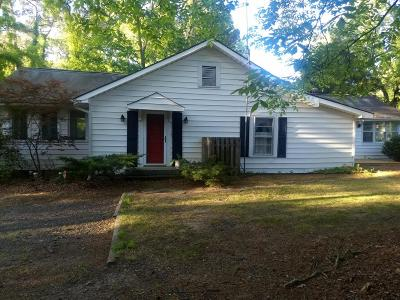 Jackson Springs Single Family Home Active/Contingent: 220 Hotel Street