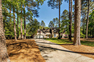 Southern Pines Single Family Home Active/Contingent: 215 Canterbury Road