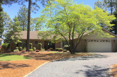 Moore County Single Family Home Active/Contingent: 177 Morris Drive