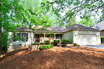 Pinehurst NC Single Family Home Active/Contingent: $282,500