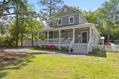 Southern Pines Single Family Home Active/Contingent: 635 N Bennett Street