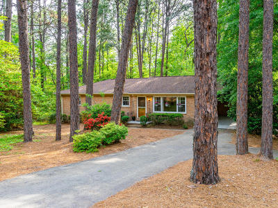 Southern Pines Single Family Home Active/Contingent: 435 Midland Road