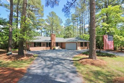 Pinehurst Single Family Home For Sale: 70 Westchester Circle Circle
