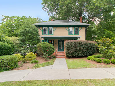 Southern Pines Single Family Home Active/Contingent: 135 E Massachusetts Avenue