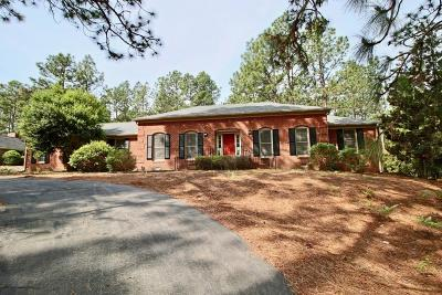 Moore County Single Family Home Active/Contingent: 46 Martin Drive
