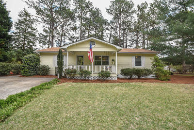 Moore County Single Family Home Active/Contingent: 205 Rowe Avenue