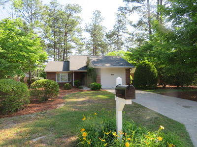 Pinehurst, Raleigh, Southern Pines Single Family Home Active/Contingent: 410 Pinehurst Trace Drive Drive