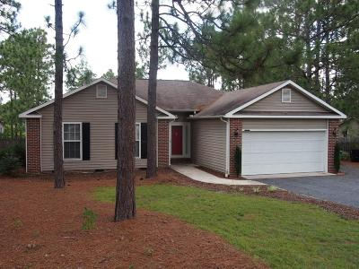 Pinehurst, Raleigh, Southern Pines Single Family Home Active/Contingent: 95 Vixen Lane