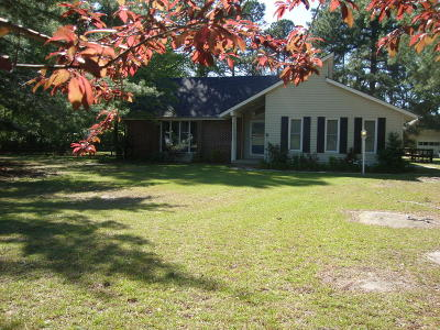 Moore County Single Family Home Active/Contingent: 172 Rowe Avenue Avenue