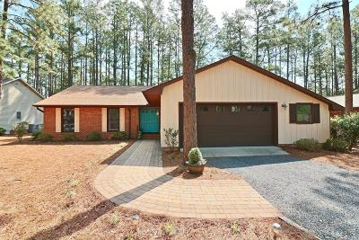 Pinehurst, Raleigh, Southern Pines Single Family Home Active/Contingent: 385 Sugar Pine Drive