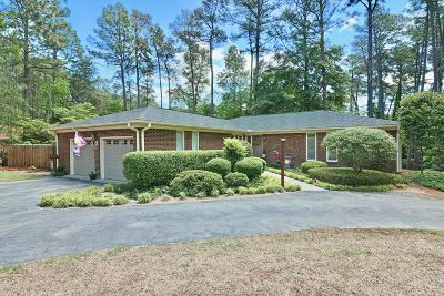 Southern Pines Single Family Home For Sale: 125 Cliff Road