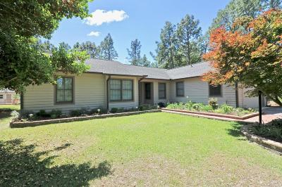 Jackson Springs Single Family Home Active/Contingent: 4 Pine Top Court