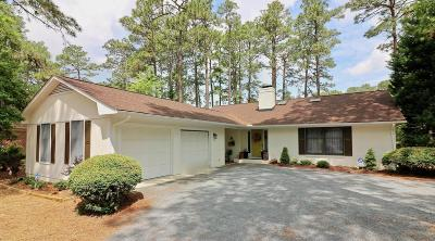 Pinehurst Single Family Home Active/Contingent: 75 Lake Hills Road