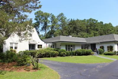 Southern Pines Single Family Home For Sale: 1645 Midland Road