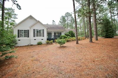 Southern Pines Single Family Home Active/Contingent: 243 Brooks Lane