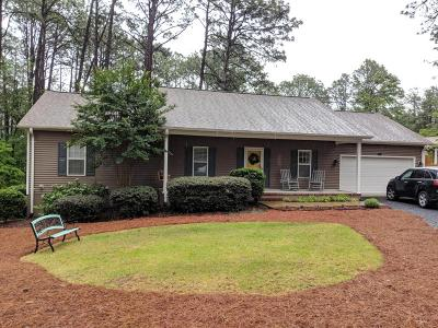 Southern Pines Single Family Home Active/Contingent: 465 Crestview Road