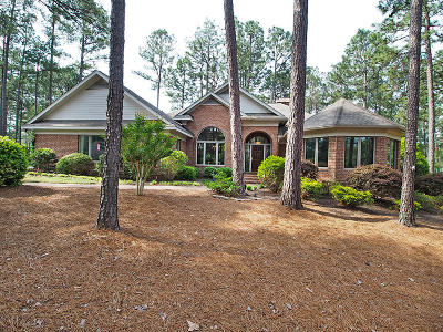 Pinewild Cc Single Family Home Active/Contingent: 3 Oxton Circle