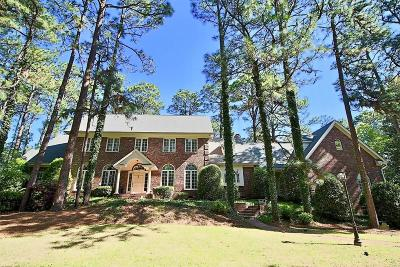 Pinehurst NC Single Family Home For Sale: $1,600,000