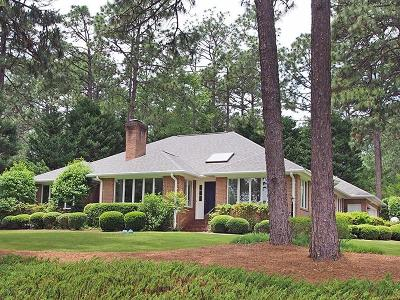 Pinehurst, Raleigh, Southern Pines Single Family Home Sold: 695 SE Lake Forest Drive