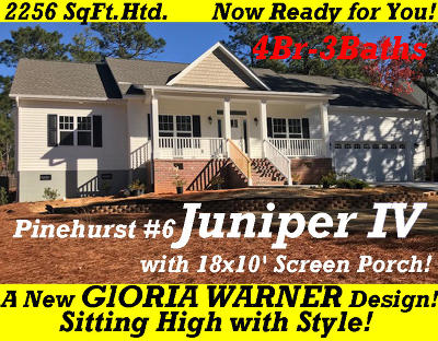 Pinehurst Single Family Home For Sale: 198 Juniper Creek Boulevard