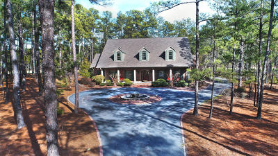 Moore County Single Family Home Active/Contingent: 47 McMichael Drive
