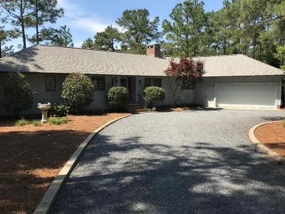 Moore County Single Family Home Active/Contingent: 260 Firetree Lane