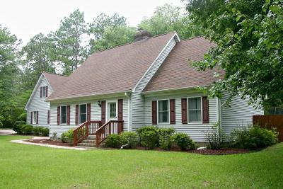 Southern Pines Single Family Home For Sale: 570 Fairway Drive