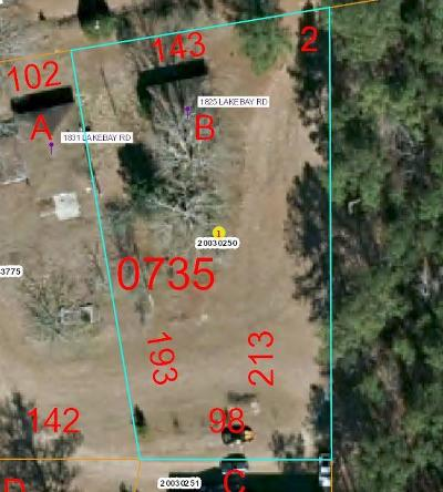 Vass Residential Lots & Land For Sale: 1831 Lakebay Road