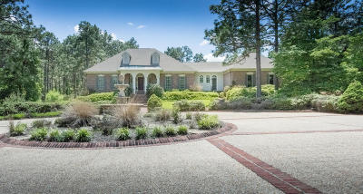 Pinehurst Single Family Home For Sale: 815 Lake Dornoch Drive
