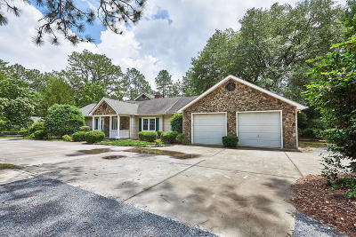 Southern Pines Single Family Home For Sale: 1610 Midland Road