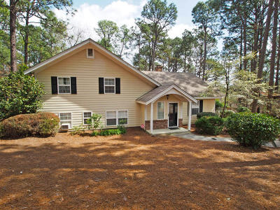 Southern Pines Single Family Home Active/Contingent: 205 S Glenwood Trail