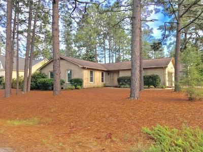 Pinehurst NC Single Family Home Active/Contingent: $169,900