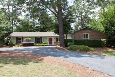 Pinehurst Single Family Home Active/Contingent: 1425 Monticello Drive