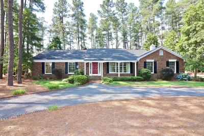 Jackson Springs Single Family Home Active/Contingent: 64 S Shamrock Drive