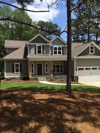 Whispering Pines Single Family Home For Sale: 11 Sandpiper Drive