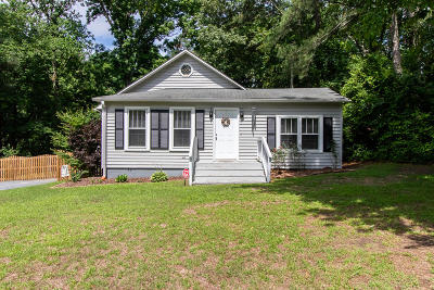 Carthage Single Family Home Active/Contingent: 704 S McNeill Street
